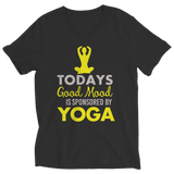 Today's Good Mood Is Sponsored By Yoga Black Ladies Vneck