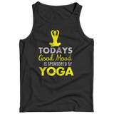 Today's Good Mood Is Sponsored By Yoga Black Tank