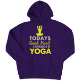 Today's Good Mood Is Sponsored By Yoga Purple Hoodie