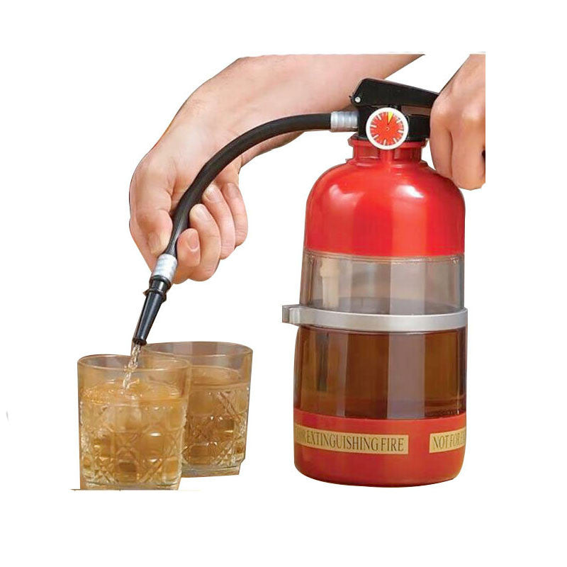 Awesome Fire Extinguisher Drink Dispenser