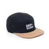 Drip N Scoop Logo Cork 5 Panel Camp Cap Camper