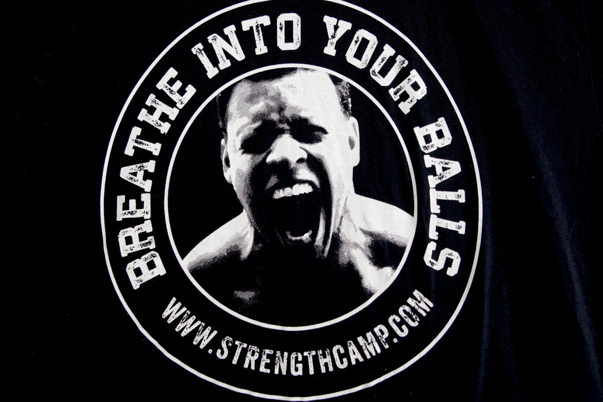Breathe Into Your Balls T-Shirt