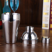 Stainless steel cocktail shaker mixer, multiple sets to choose from with bar tools