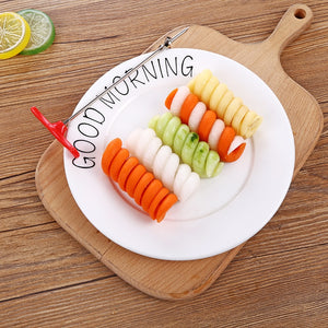 Vegetables spiral carving tool