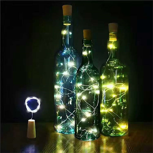 LED cork bottle light string (2 meters, 20 lights)
