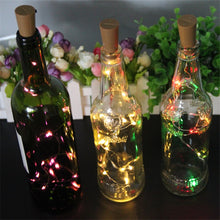 Load image into Gallery viewer, LED cork bottle light string (2 meters, 20 lights)