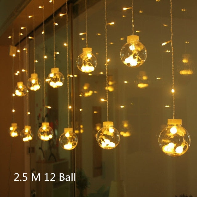 LED balls or stars lights