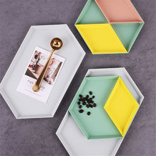 Load image into Gallery viewer, Hexagon colourful storage trays