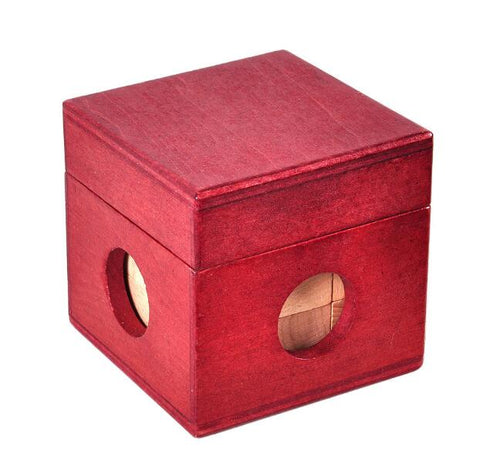 Workshop logic wooden cube puzzle
