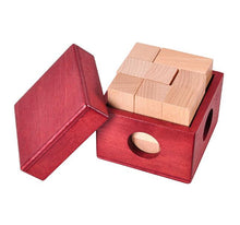 Load image into Gallery viewer, Workshop logic wooden cube puzzle