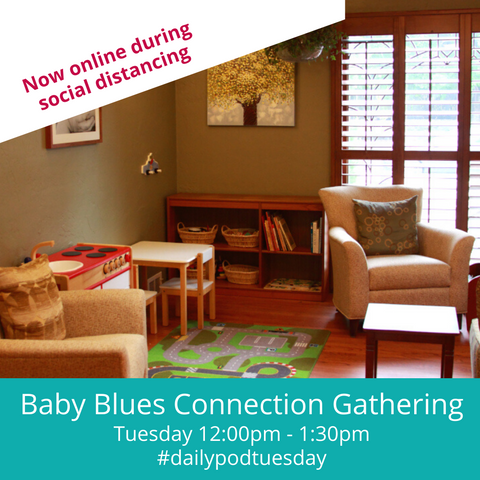 Now Virtual: Baby Blues Connection Tuesday