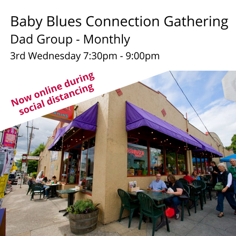NOW Virtual: Baby Blues Connection Third Wednesday Dad's Group