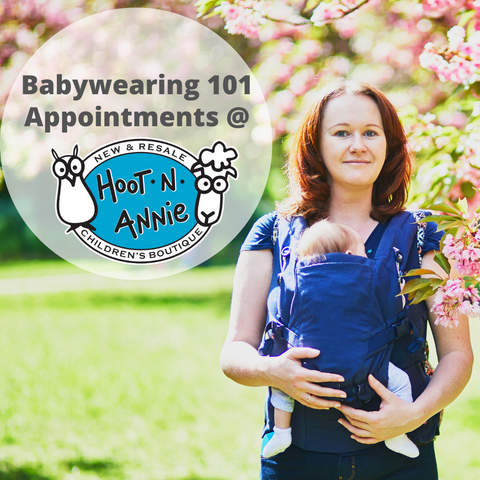 Babywearing 101 at The Bull and the Bee