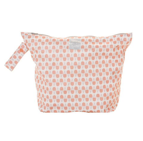 GroVia Zippered Wetbag Grapefruit Ice Cream