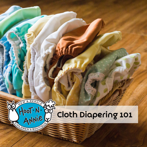 Cloth Diapering 101 at Hoot-n-Annie