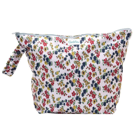 GroVia Zippered Wetbag Calico
