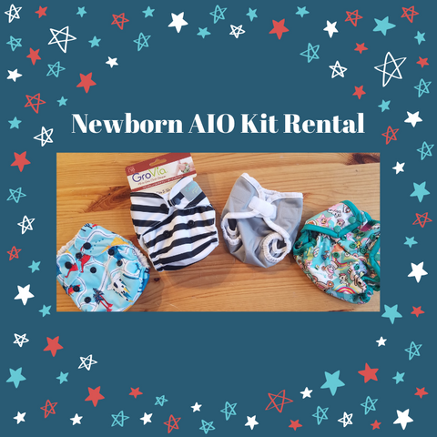 Newborn AIO Diaper Rental