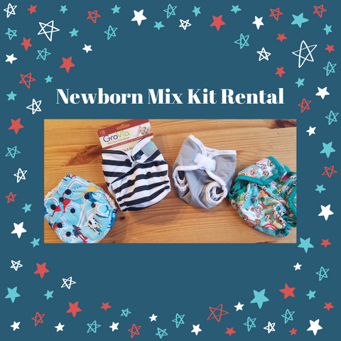 Newborn Mix Kit Diaper Rental