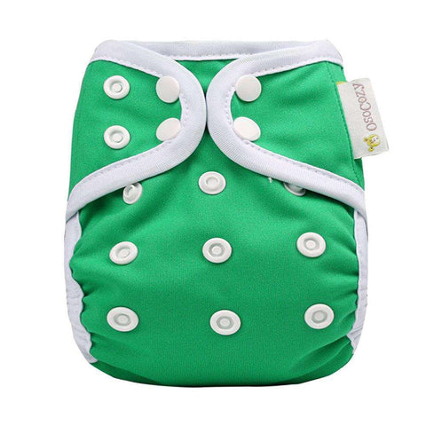 OsoCozy Newborn Diaper Cover - Green