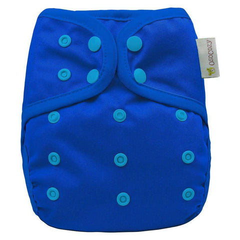 OsoCozy One Size Diaper Cover - Blue Berry
