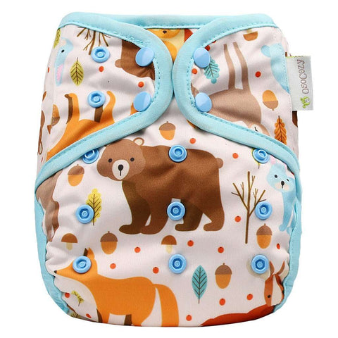 OsoCozy One Size Diaper Cover - Critters