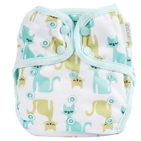 OsoCozy One Size Diaper Cover - Meow