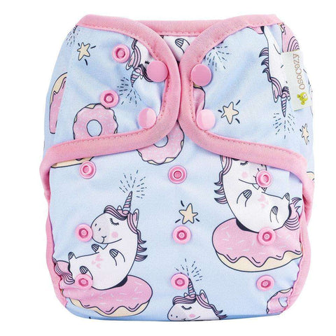 OsoCozy One Size Diaper Cover - Unicorn