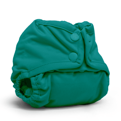 Rumparooz Newborn/Preemie Diaper Cover Snap Peacock