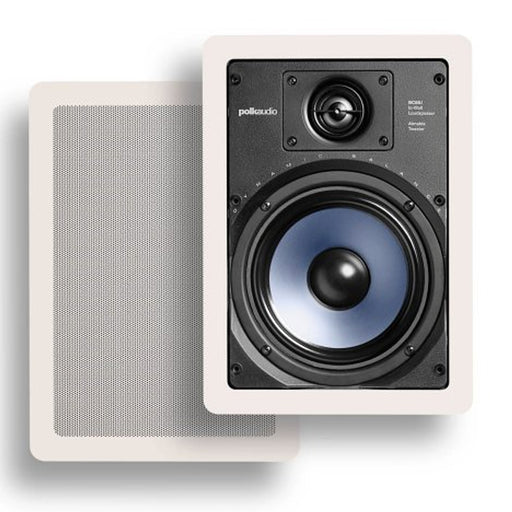 Polk Audio 6.5 Inch Premium In Wall Speakers - RC65i