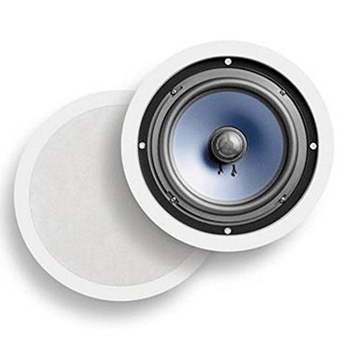 Polk Audio 8 Inch Premium In Ceiling Round Speakers  -  RC80i
