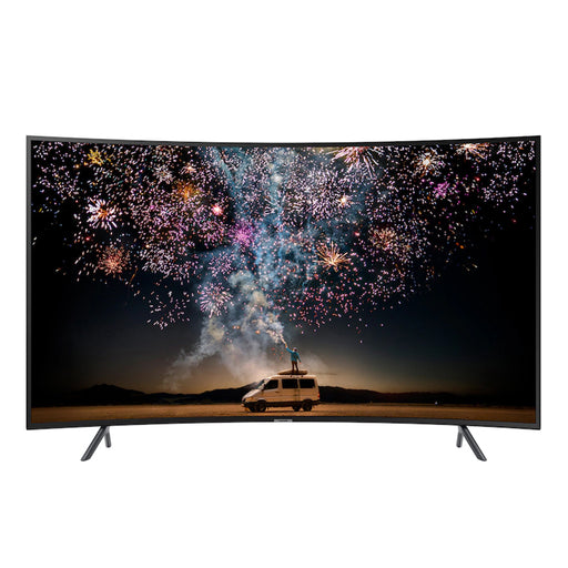 Samsung Curved 55-Inch 4K UHD 7 Series Ultra HD Smart TV with HDR and Alexa - UN55RU7300FXZA Compatibility (2019 Model)