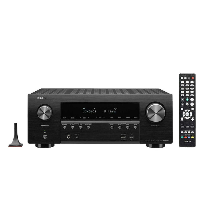 Denon 7.2 Ch High-Power 4K Av Receiver With Dolby Atmos And Voice Control - AVR-S950H
