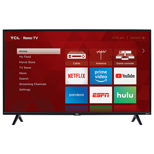 TCL 40-Inch Class HD Roku Smart LED TV - 40S325