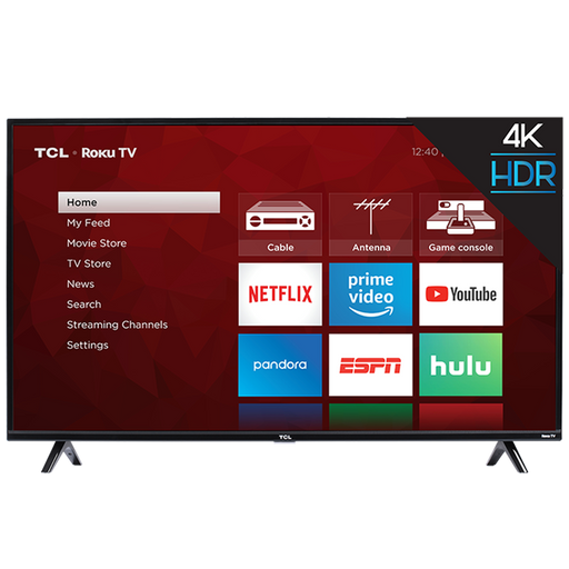 TCL 50 Inch Class - 4K ULTRA HD Roku Smart LED TV ( 50S425)