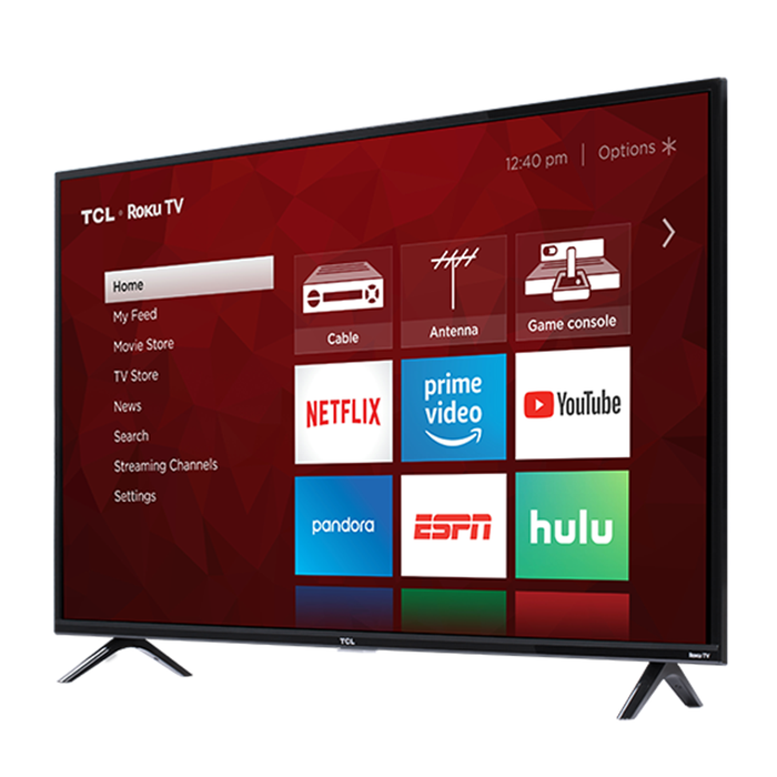 TCL 55-Inch Class 4K ULTRA HD Roku Smart LED TV - 55S425