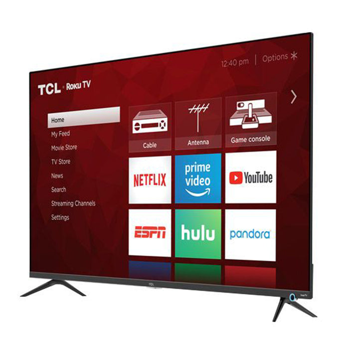 TCL 65-Inch Class 4K ULTRA HD DOLBY VISION Roku Smart LED TV - 65S525