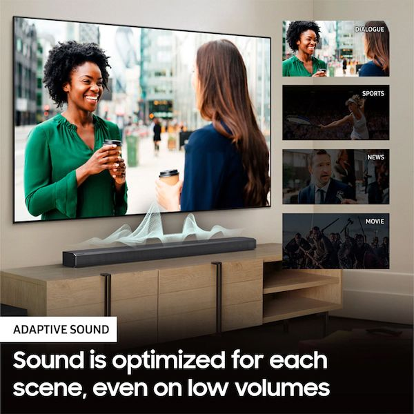 Samsung -  SoundBar w/ Dolby Atmos / DTS:X and Alexa Built-IN - (HW-Q900T/ZA) (2020)