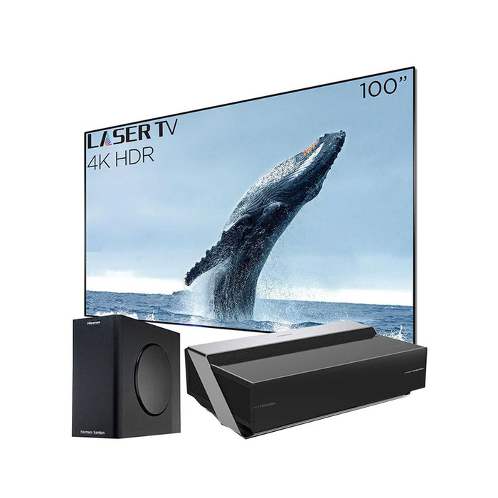 HISENSE 100 Inch -4K UHD SMART LASER TV WITH HDR AND WIDE COLOR GAMUT - 100L10E (2019)