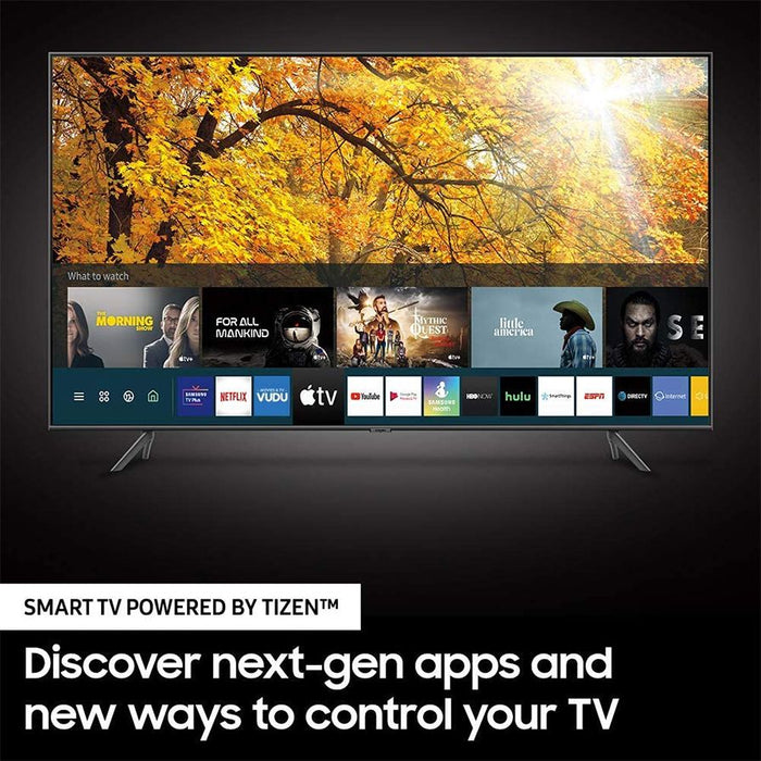 Samsung 75 Inch 4K LED TIZEV Smart TV, Bundle with 1 Year Extended Warranty  - UN75TU8000FXZA