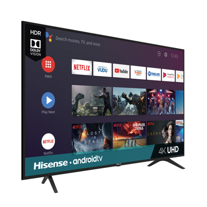 Hisense 55 Inch H6570 Series 4K UHD Android Smart Tv (2019) - 55H6570F