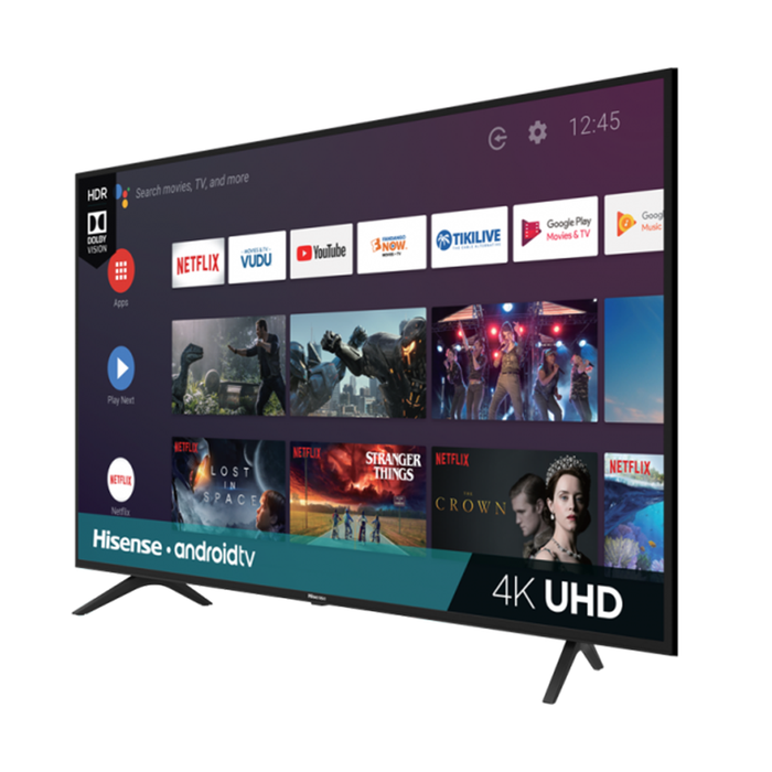 Hisense 65 Inch 4K UHD Android Smart Tv (2019) - 65H6570F