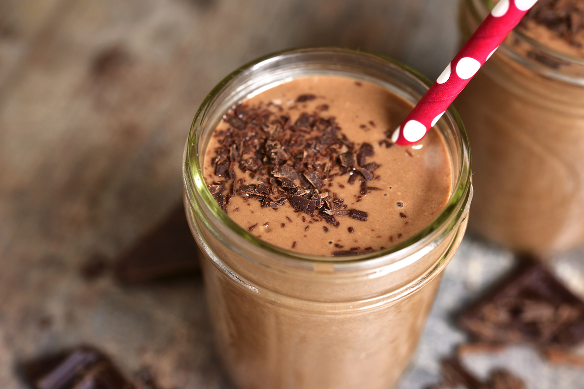 Omega 3 Chocolate Chip Smoothie