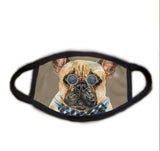 Chill Bulldog Face Mask