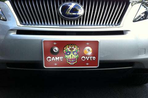 Game Over license plate