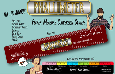 Phallimeter (Pecker Measure Conversion System)