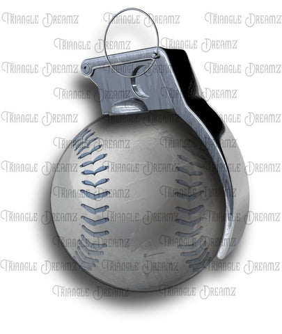 Baseball Grenade by Triangle Dreamz