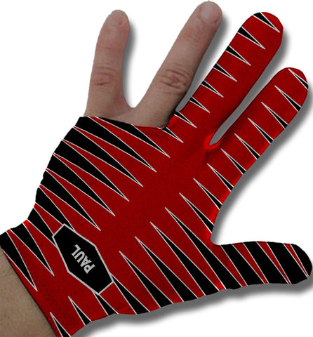 Sport Stripes Monogrammed Billiard Glove