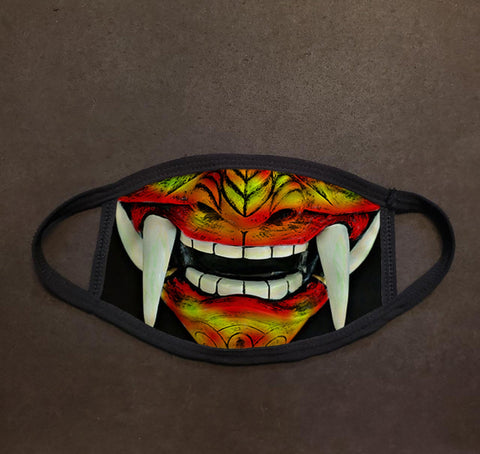 Japanese Oni Demon Face Mask
