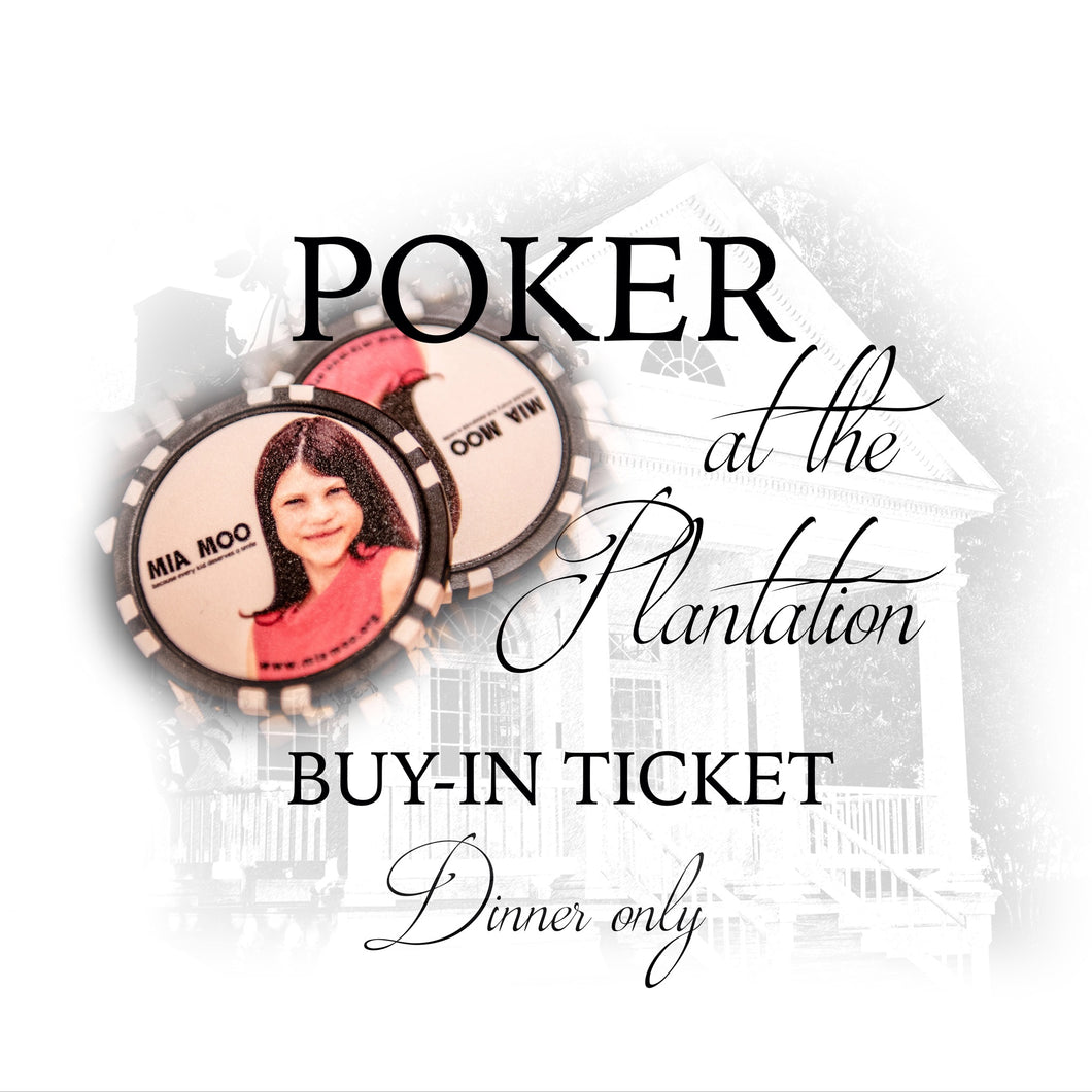 Buy-In Ticket (Dinner Only)