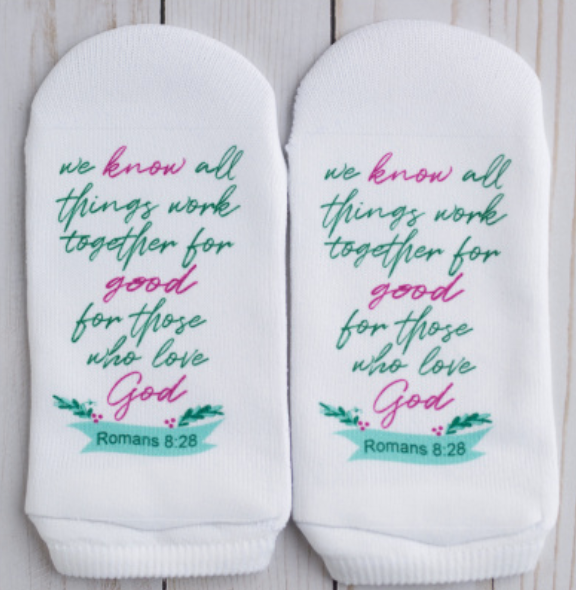 Standing on the Word Socks - Romans 8:28